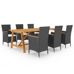 vidaXL Pantalla de lámpara de mimbre blanco 20x15 cm