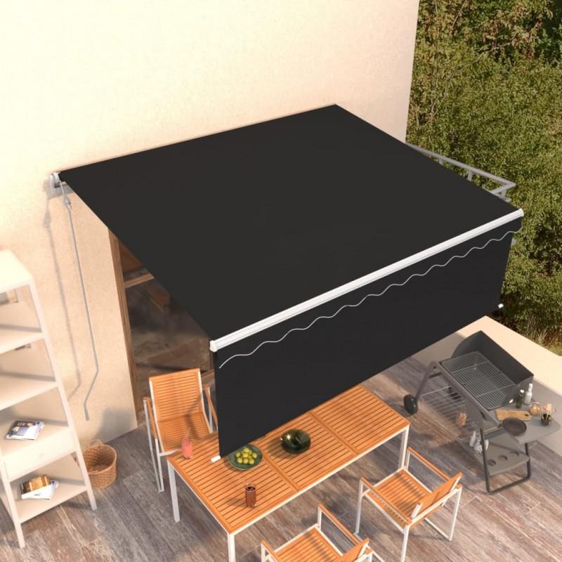 vidaXL Maniquí de busto de mujer de yute marrón y negro
