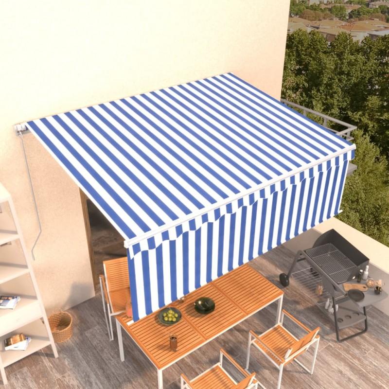 vidaXL Maniquí de busto de mujer algodón blanco con rayas
