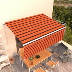 vidaXL Reloj de pared de dos lados de diseño clásico