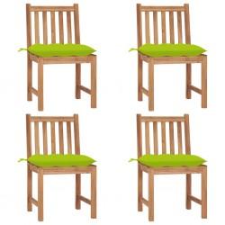 vidaXL Sillas de comedor con reposabrazos 4 unidades terciopelo azul