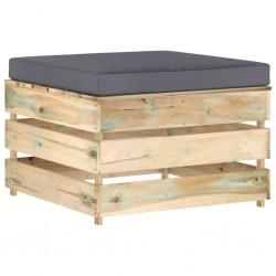 vidaXL Alfombras de entrada rectangulares de nudo 2 uds rojo 40x60 cm