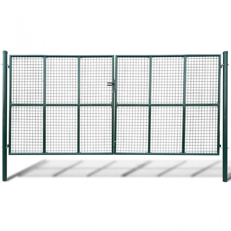 vidaXL Protector de colchón acolchado pesado blanco 180x200 cm
