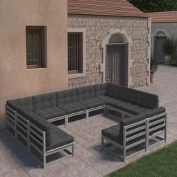 Ubbink Cascada de hoja de acero inoxidable Nevada 60 cm con luces LED