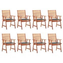 Esschert Design Bolso de herramientas de jardín taburete gris GT85