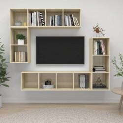 vidaXL Base de sombrilla redonda de resina
