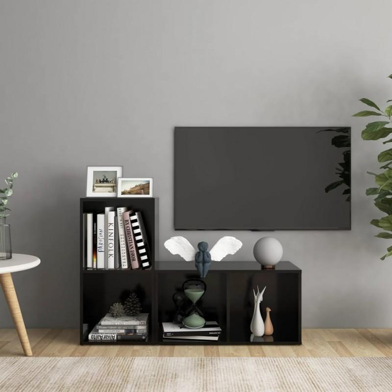 TRIXIE Comedero para pájaros colgante 30x18x28 cm negro y blanco