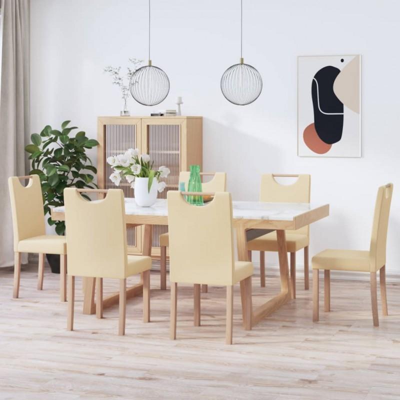 vidaXL Cubierta de repuesto de cenador 310 g/m² blanco crema 3x3 m