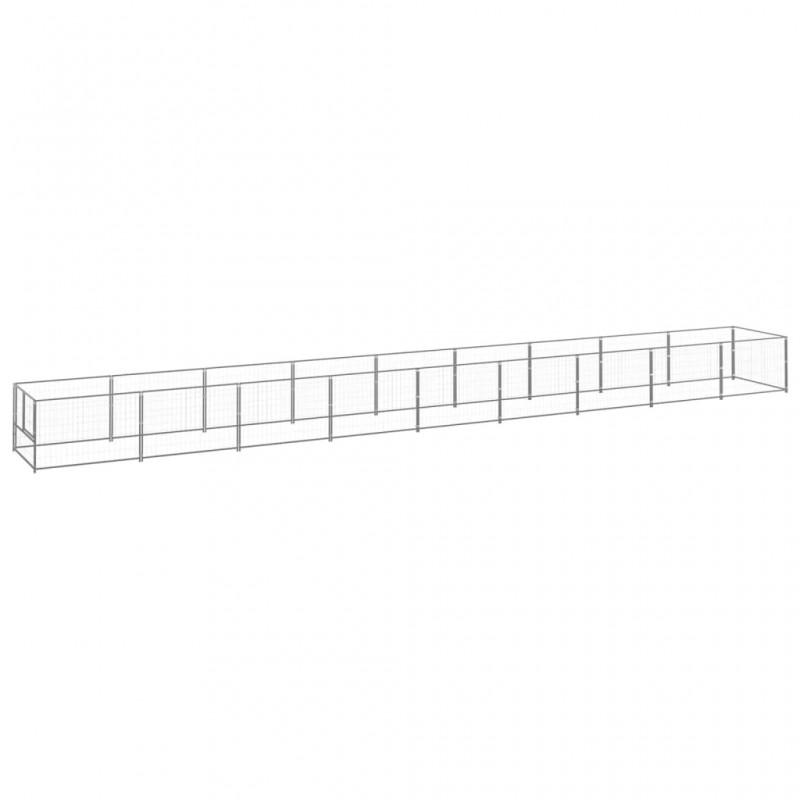 Bolsas de basura para jardín verde oscuro 4 piezas 272 L 150 g/m2
