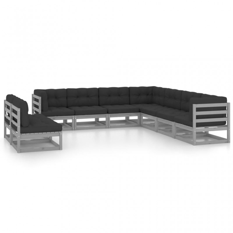 vidaXL Invernadero de aluminio reforzado con marco base 7,55 m²