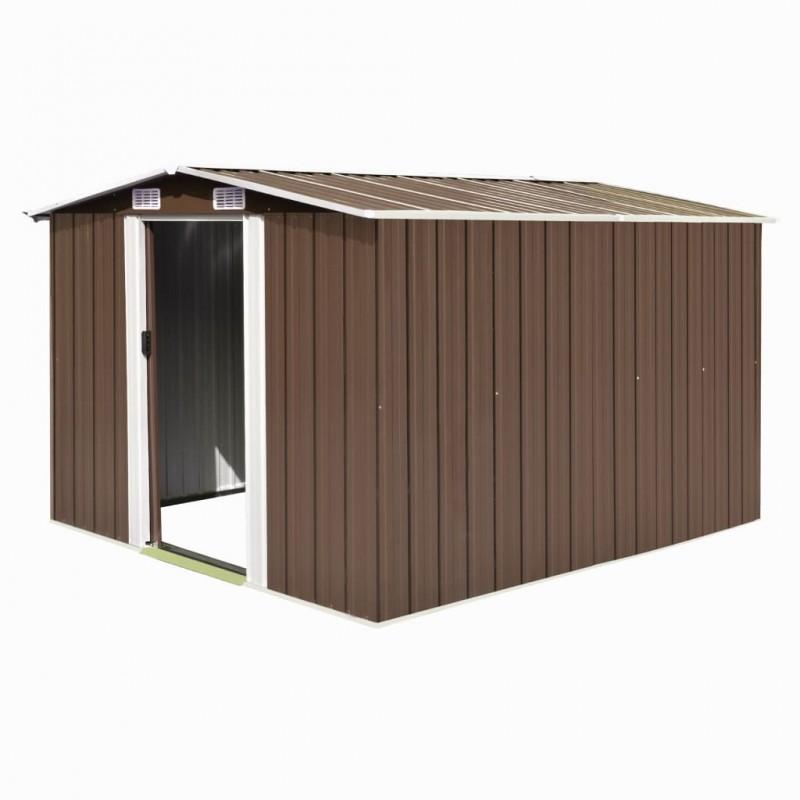 vidaXL Inodoro WC de cerámica negro