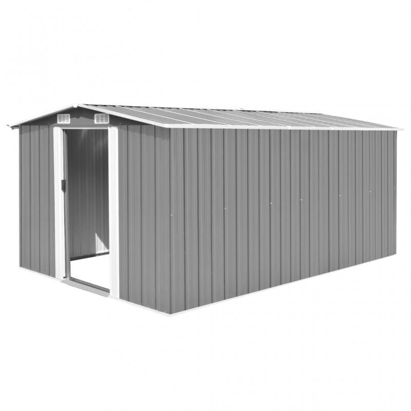 vidaXL Carrito caja de herramientas con gomaespuma dentro