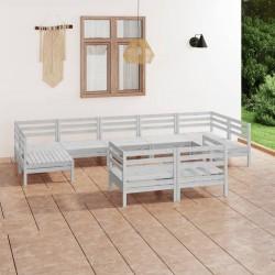 vidaXL Armario de almacenamiento para jardín marrón 79x49x190 cm