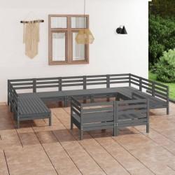 vidaXL Compostador de listones cuadrado de madera 0,54 m3
