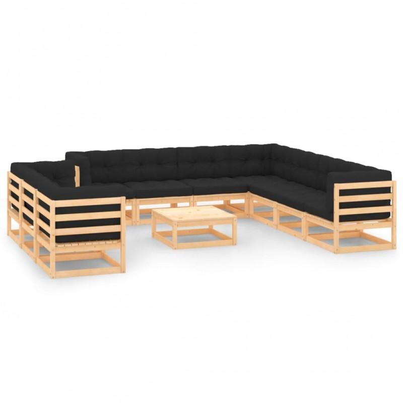 Madison Sombrilla Delos Luxe 300x200 cm gris topo PAC5P015