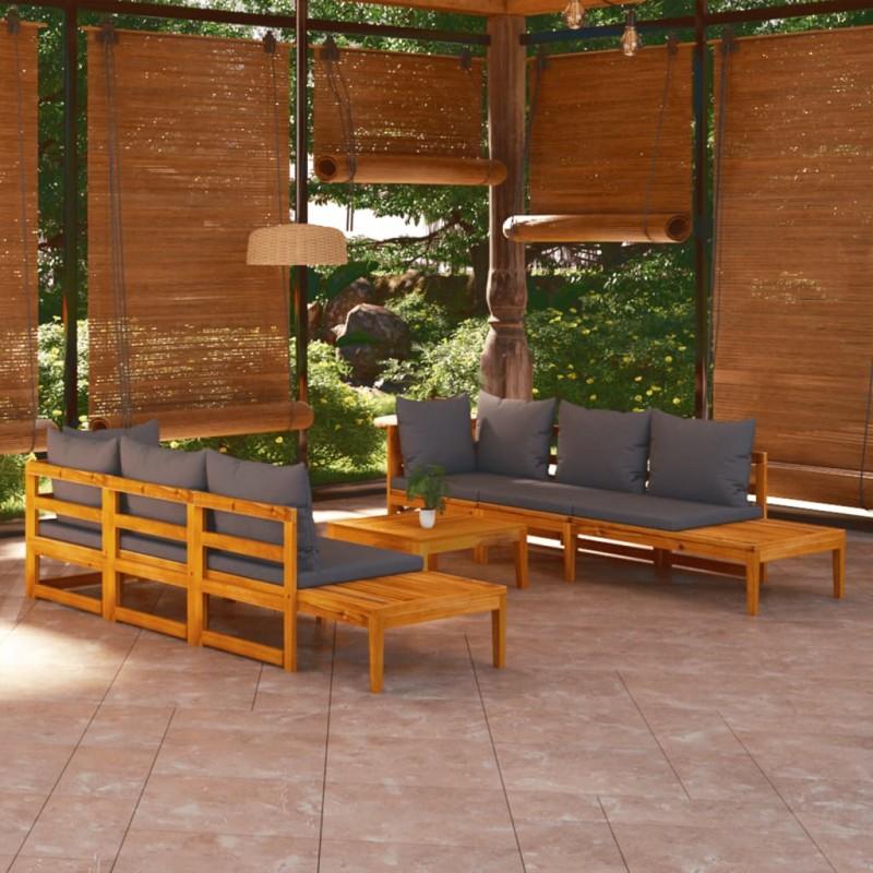 Esschert Design Brasero esfera enrejada acero al carbono negro FF400
