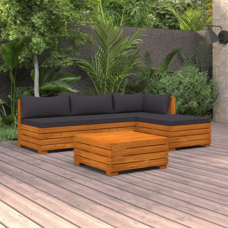 vidaXL Dosel de reemplazo para columpio de jardín 226x186 cm verde