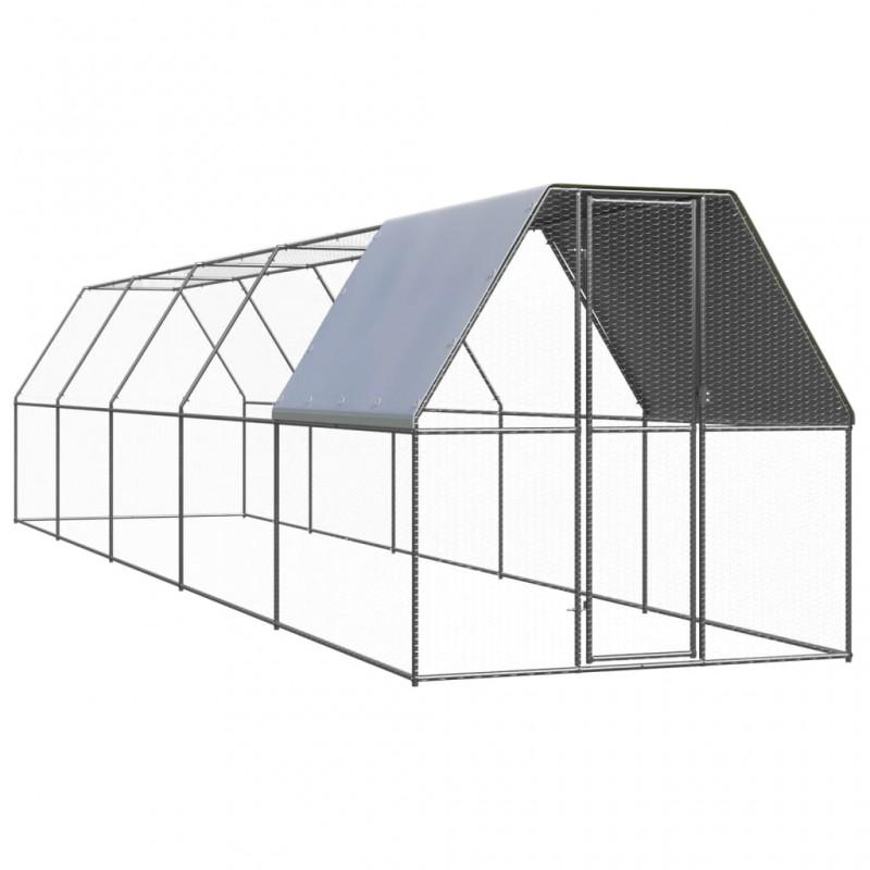 Esschert Design Alfombra de exterior estampado floral 241x152 cm OC21