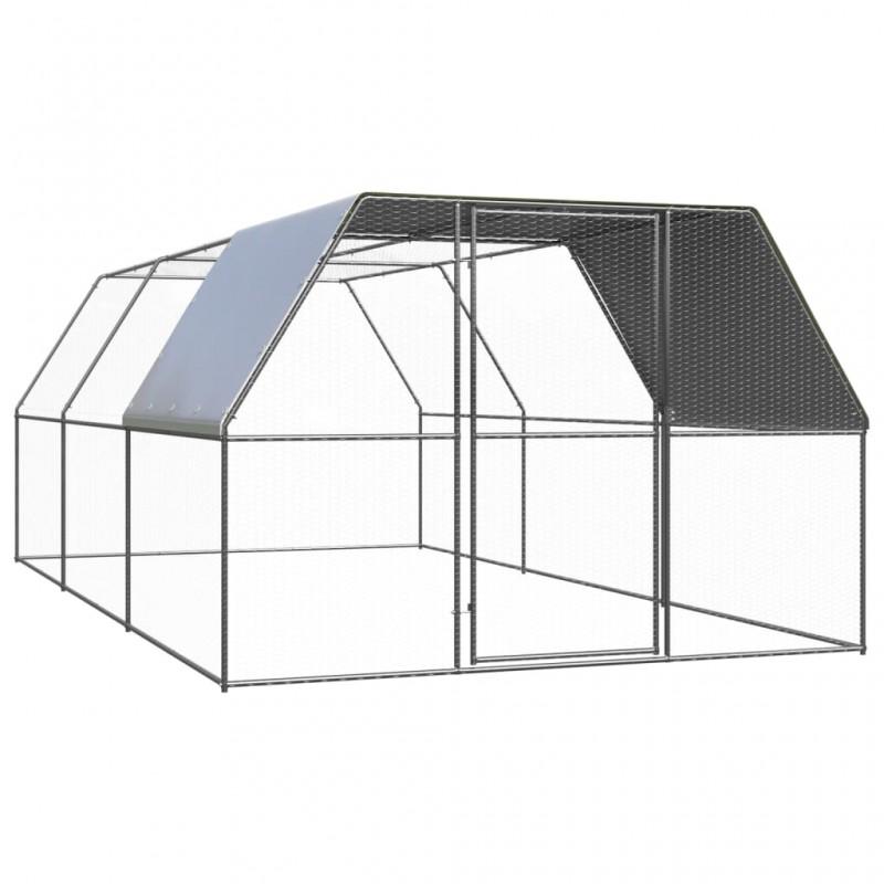 Esschert Design Paraguas con dibujo de 2 pájaros 81 cm TP274