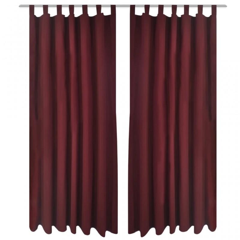 vidaXL Funda de edredón 2 fundas almohada rayas satén 200x200/80x80cm