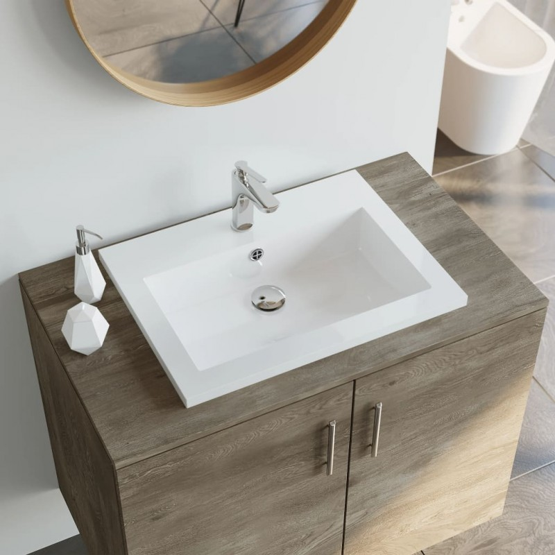 vidaXL Asiento inodoro WC MDF tapa de cierre suave diseño blanco