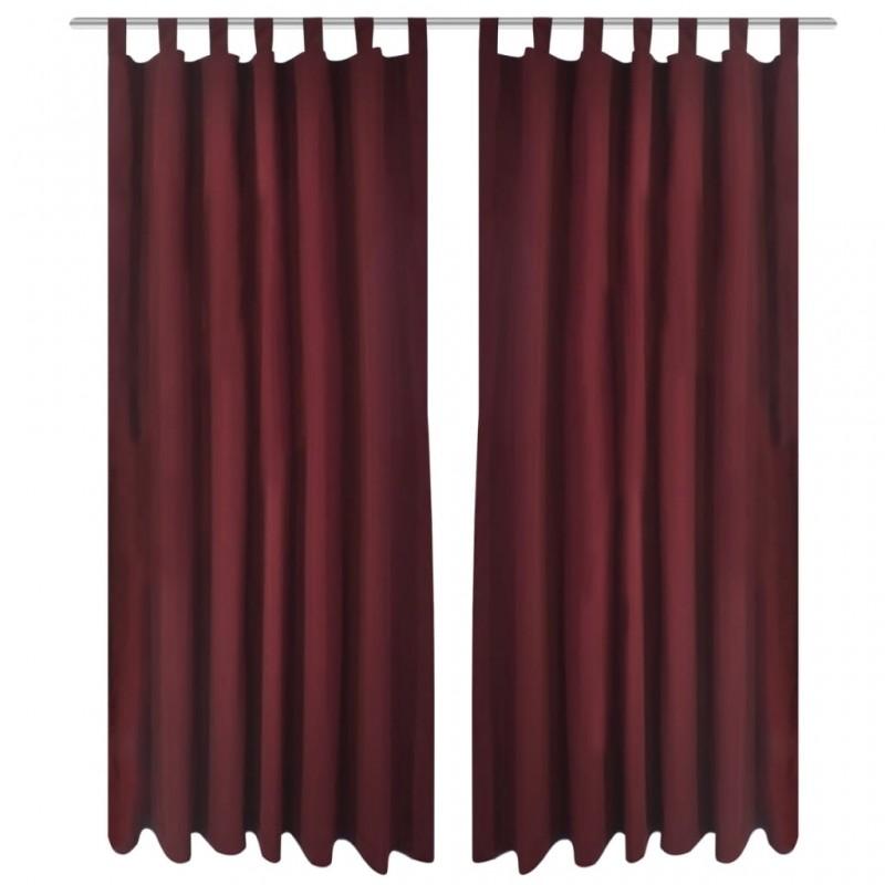 vidaXL Funda de edredón 2 fundas almohada rayas satén 200x220/80x80cm