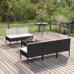Pure2Improve Rodillo de yoga rosa y blanco 33x14 cm