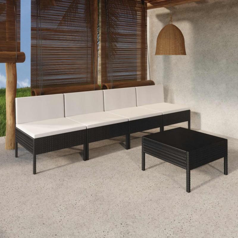 Pure2Improve Toalla de yoga antideslizante azul