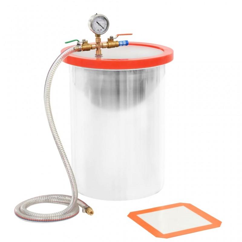 vidaXL Radiador toallero 480 x 480 mm conector lateral y central