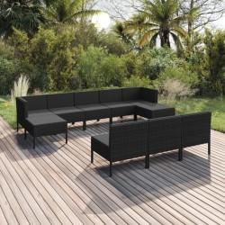 FMD Soporte para TV/equipo de música gris hormigón y blanco brillante
