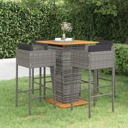 Esschert Design Paraguas con estampado Hello reflectante