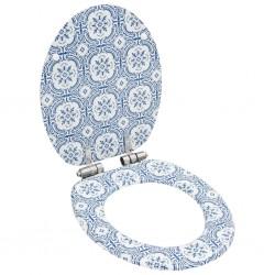 vidaXL Toldo de lona azul y blanco 6x3 m sin armazón