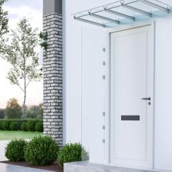 vidaXL Caja de almacenaje de jardín ratán sintético negro 150x50x60 cm