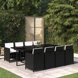 vidaXL Cojines para sillas de jardín 4 unidades crema 120x50x3 cm