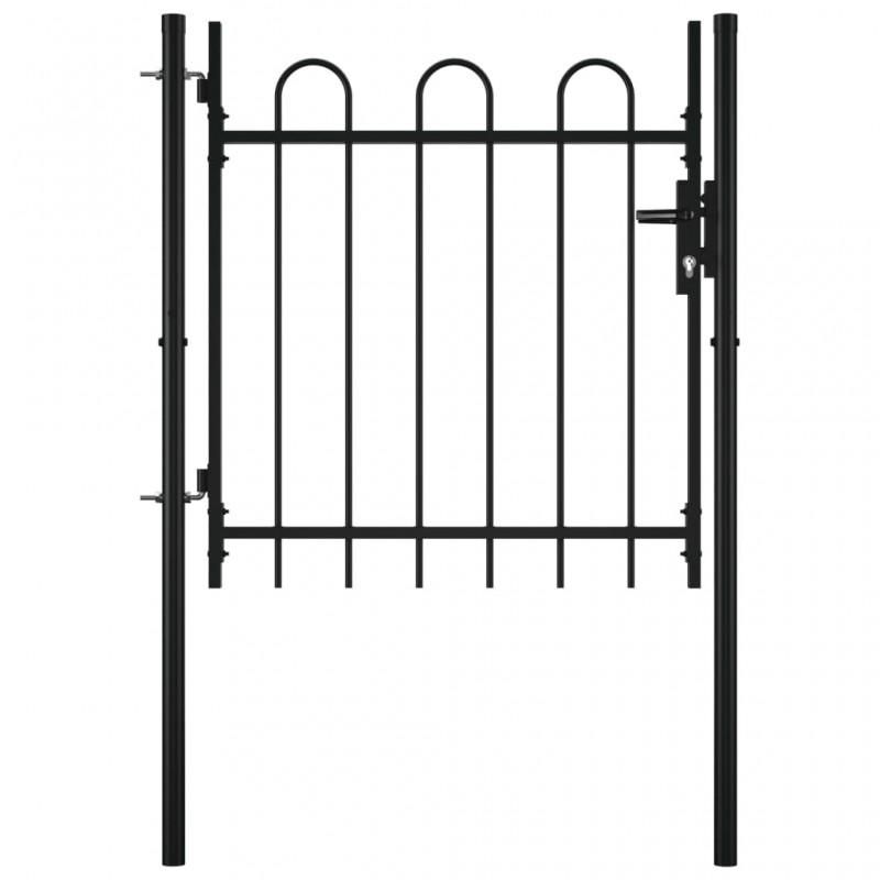 vidaXL Estante de esquina para ducha de metal 3 niveles