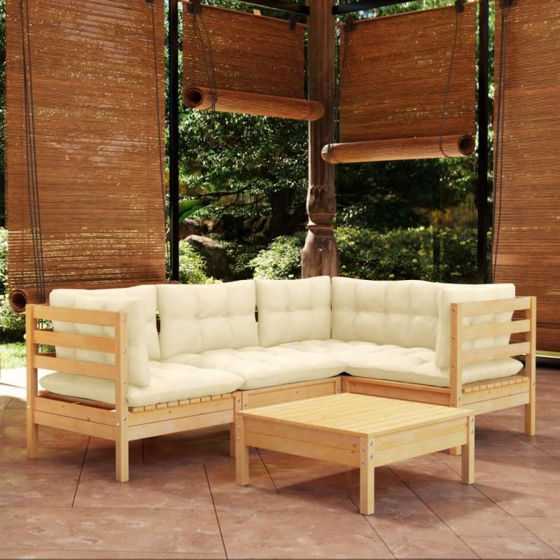 vidaXL Caja de almacenamiento de jardín gris antracita 120x56x63 cm