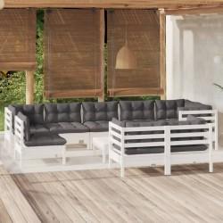 vidaXL Césped artificial 1x5 m / 7-9 mm negro
