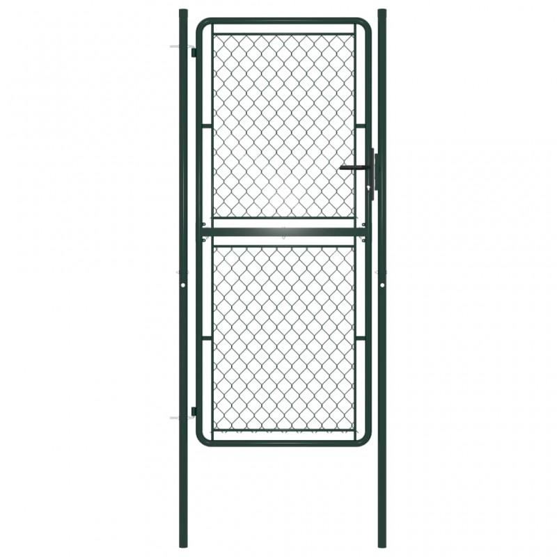 vidaXL Alfombrilla de goma antideslizante acanalado ancho 2x1 m