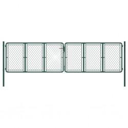 vidaXL Alfombrilla de goma antideslizante acanalado estrecho 2x1 m