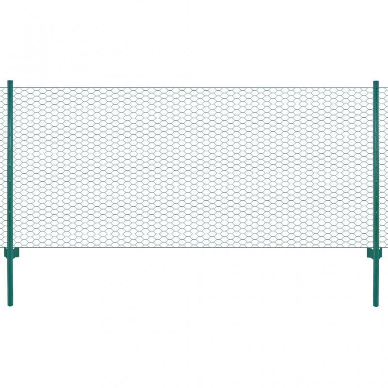 Reja de seguridad ajustable dos travesaños para ventanas, 500-650 mm