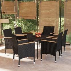 vidaXL Escalón para jacuzzi ratán sintético gris 92x45x25 cm