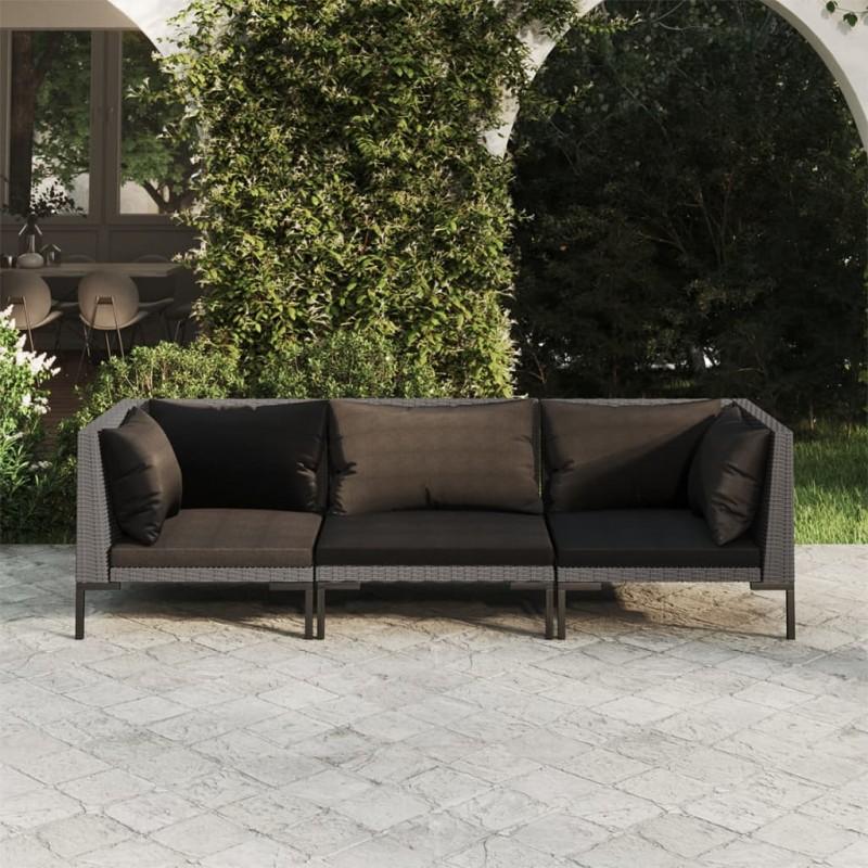 vidaXL Caseta de jardín para leña acero galvanizado gris 172x91x154 cm
