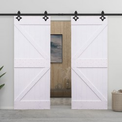 vidaXL Cojines para sofá de palés 3 piezas tela color crema