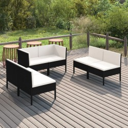 vidaXL Base de sombrilla rellenable con arena/agua negro 24 L