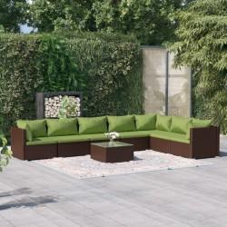 vidaXL Tutores plantas 10 uds madera pino impregnada 2,8x2,8x150cm