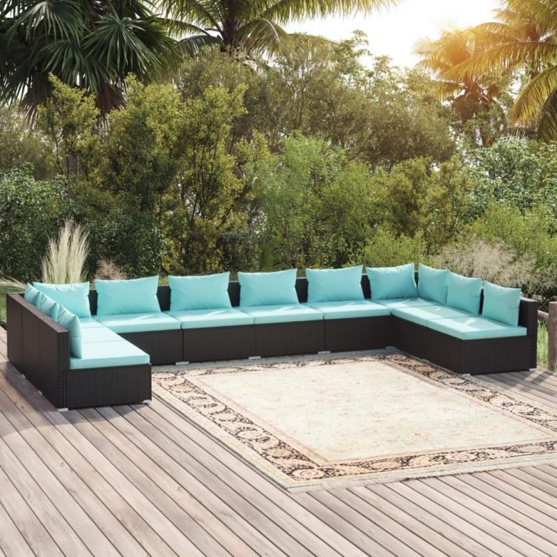 Soporte para altavoz, de cristal negro y aluminio, 2 unidades