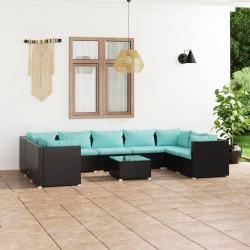 vidaXL Lámpara de techo con 6 focos E14 níquel satinado