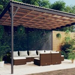 vidaXL Deshidratador de alimentos con 10 bandejas 550 W blanco