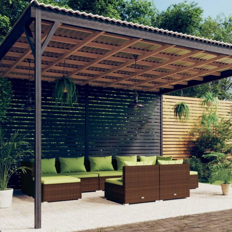 vidaXL Máquina de algodón de azúcar 480 W roja