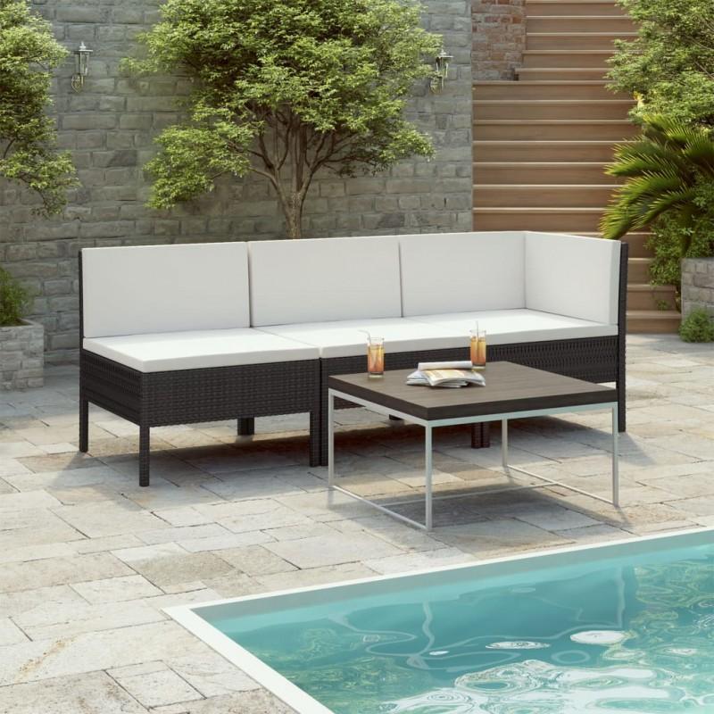 vidaXL Ventilador de techo adornado con lámpara 82 cm marrón claro